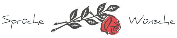 Trauersprüche Logo